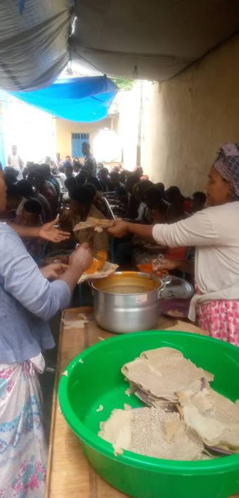 Etiopia - donazione cibo